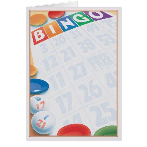 © del bingo felicitación