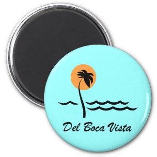 Del Boca Vista Imán De Frigorifico
