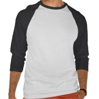 "Del ""camiseta céltica del raglán trébol del negro"" camisetas"
