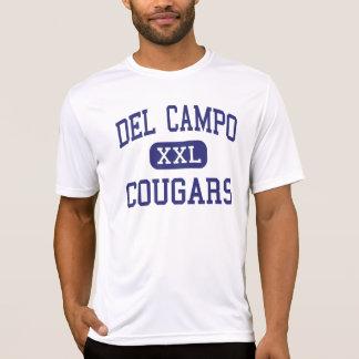 Del Campo - pumas - alto - robles justos Californi Camisetas