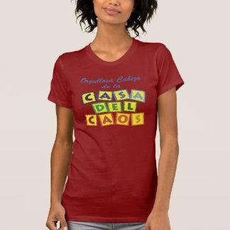 Del Caos de Cabeza de la Casa Camisetas