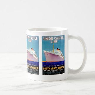 ~ del castillo de la unión la manera grande de la taza de café