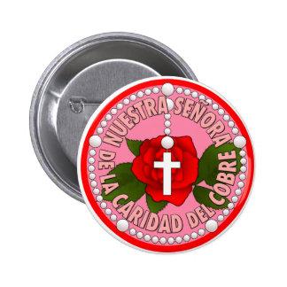Del Cobre de Nuestra Señora de la Caridad Pins
