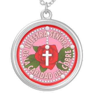 Del Cobre de Señora de la Caridad Collar Personalizado