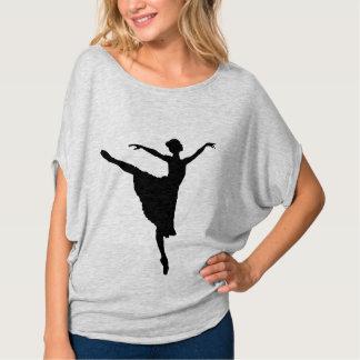 ~ del En Pointe (silueta de la BAILARINA del Camiseta