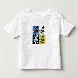 Del estilo de la roca camiseta hacia fuera