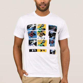 del estilo de la roca rejilla de Close_Ups hacia Camiseta