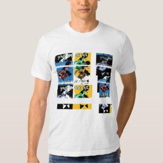 del estilo de la roca rejilla de Close_Ups hacia Camisetas
