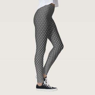 ~ del estilo de la sirena gris oscuro leggings