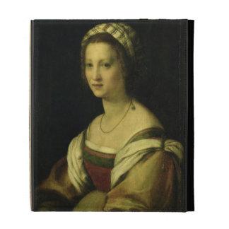 Del Fede, la esposa del artista, C. de Lucrezia di
