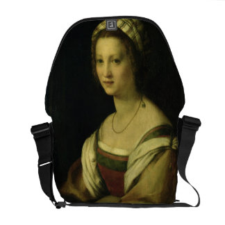 Del Fede, la esposa del artista, C. de Lucrezia di Bolsa De Mensajería