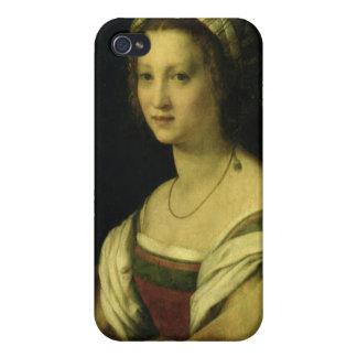 Del Fede, la esposa del artista, C. de Lucrezia di iPhone 4 Carcasas