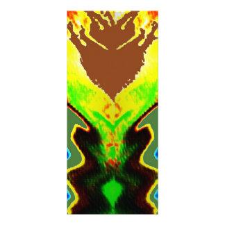Del fuego volcán espiritual dentro - tarjetas publicitarias