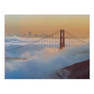 Del Golden Gate 75.as postales del aniversario