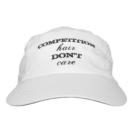 """Del """"gorra pelo de la competencia"""" de la gorra de alto rendimiento"""