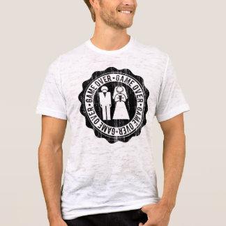 Del juego despedida de soltero encima - camiseta