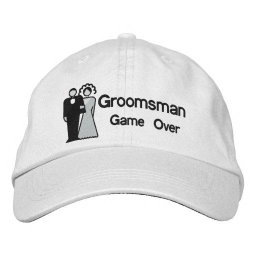 Del juego padrino de boda encima - gorra de beisbol bordada