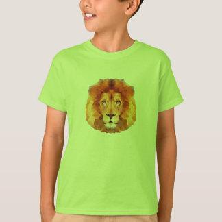 Del LEÓN diseño polivinílico bajo. Ejemplo del Camiseta