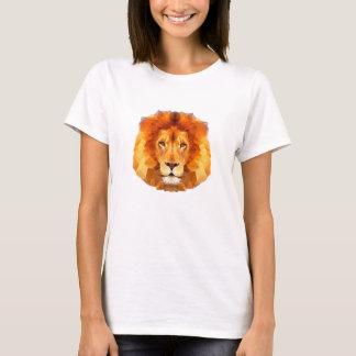 Del león la camiseta básica de las mujeres