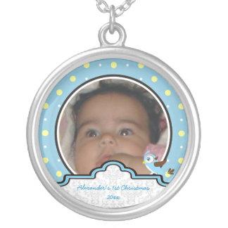 Del lunar del pájaro de la etiqueta del bebé 1r joyerias