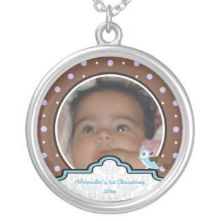 Del lunar del pájaro de la etiqueta del bebé 1r joyería