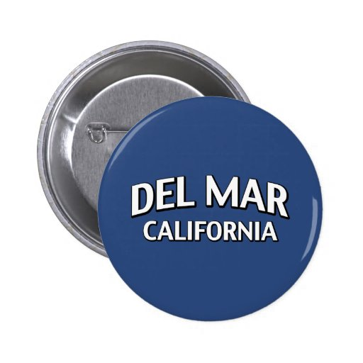 Del Mar California Pin