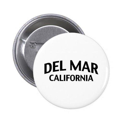 Del Mar California Pins