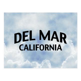 Del Mar California Tarjeta Postal