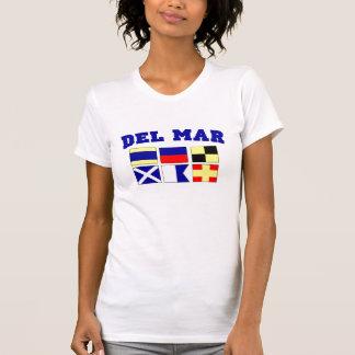 Del Mar Camiseta