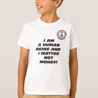 Del niño soy una camiseta del ser humano