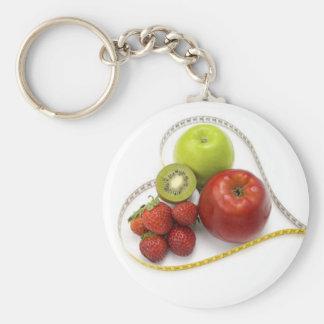 Del nutricionista del llavero de Fruta del verdor
