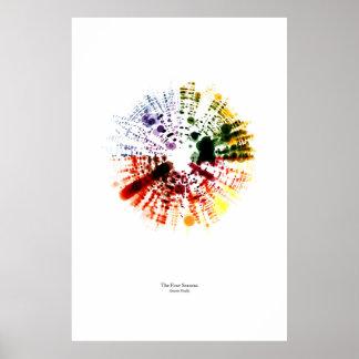 Del personal: Las cuatro estaciones (color) Póster