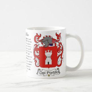 Del Portillo, el origen, el significado y el Cres Taza De Café