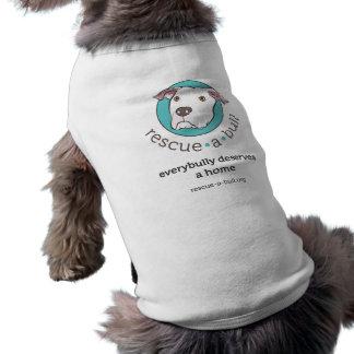 del Rescate-uno-toro el tanque everybully Camiseta Sin Mangas Para Perro