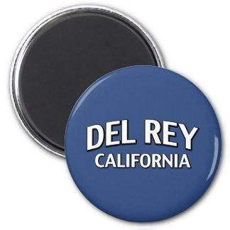 Del Rey California Imán De Frigorifico