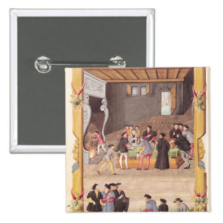 Del rey la secretaria de los notarios y chapa cuadrada 5 cm