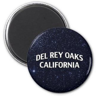 Del Rey Oaks California Imán De Frigorifico