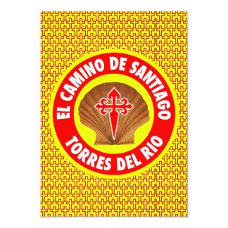 Del Río de Torres Invitación 12,7 X 17,8 Cm