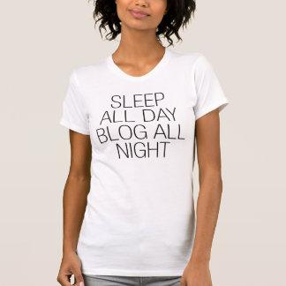 Del sueño blog todo el día toda la camiseta Tumblr