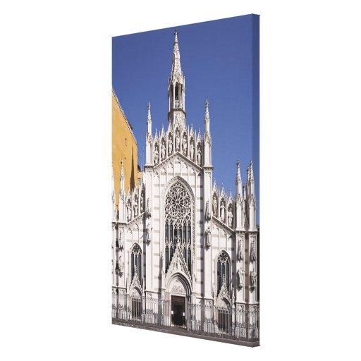 Del Suffragio, Roma de Chiesa del Sacro Cuore, Lienzo Envuelto Para Galerías