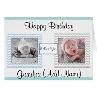 """Del """"tarjeta de cumpleaños de la foto del abuelo tarjeta de felicitación"""