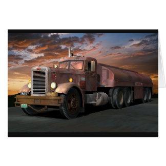 """Del """"tarjeta de felicitación camión del duelo"""" de"""