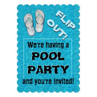 """Del """"tirón invitación de la fiesta en la piscina h"""