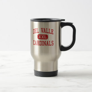 Del Valle - cardenales - joven - Del Valle Tejas Taza De Viaje