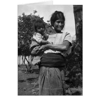 Del Valle, Chiapas, México de Amatenango Tarjeta De Felicitación