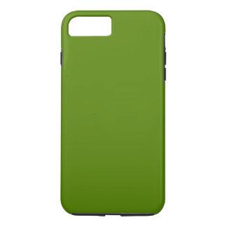 ~ del VERDE VERDE OLIVA (color sólido) Funda iPhone 7 Plus