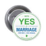 Del voto botón sí pins