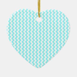 Del zigzag azul blanco y eléctrico de par en par - ornamente de reyes