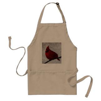 Delantal adulto cardinal