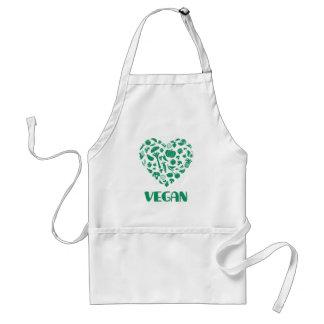 Delantal Amante del vegano